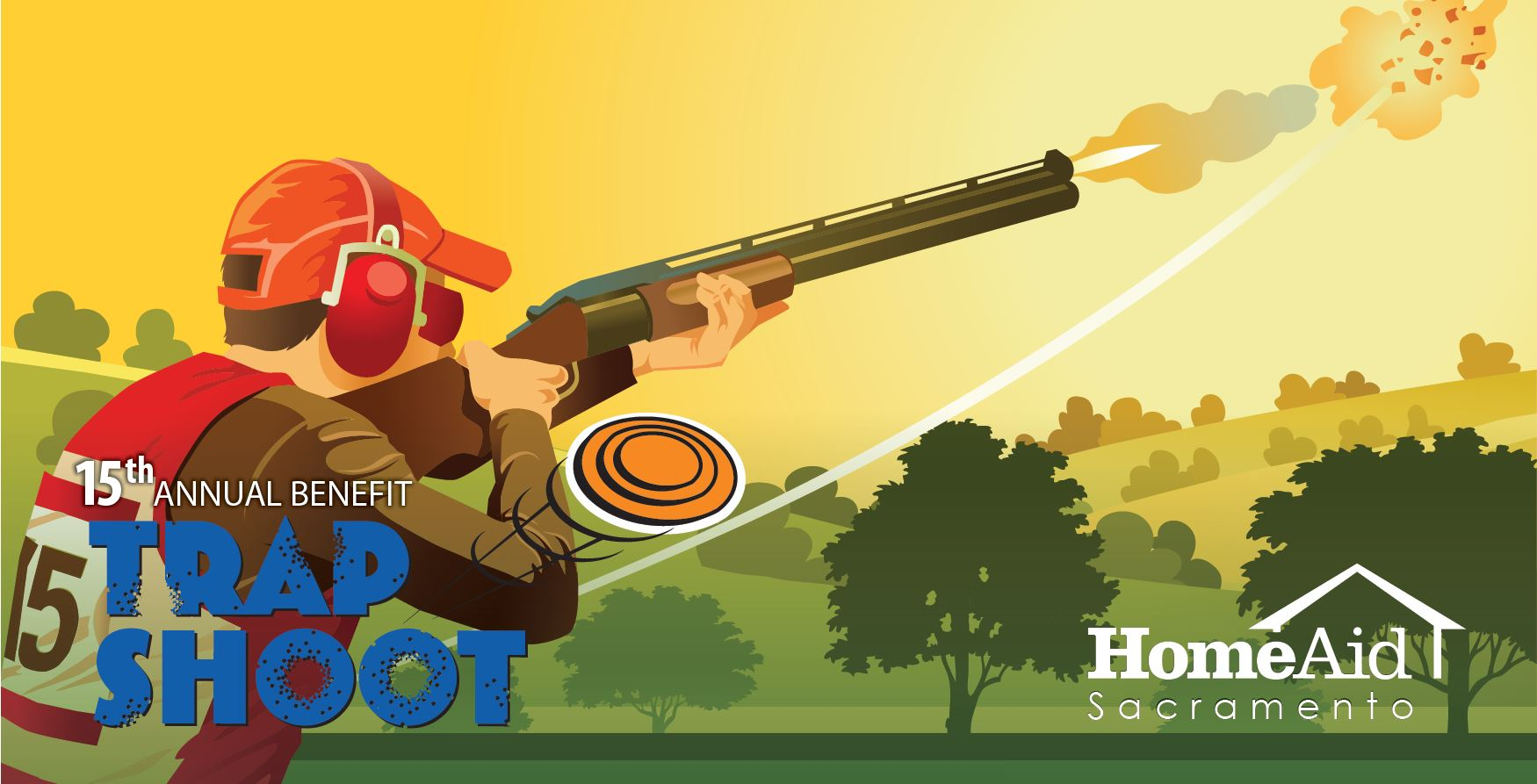 Over 80 teams participated in the sold-out HomeAid Sacramento Trapshoot.