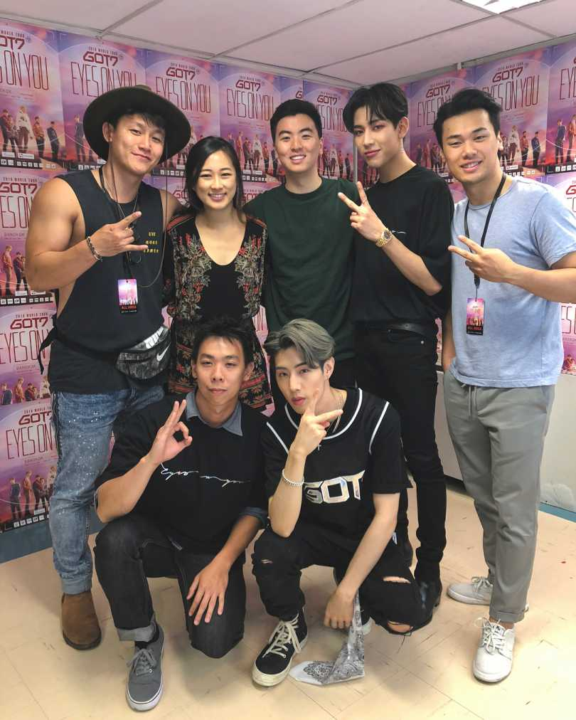 Kalvin & Friends with Mark Tuan and BamBam from GOT7