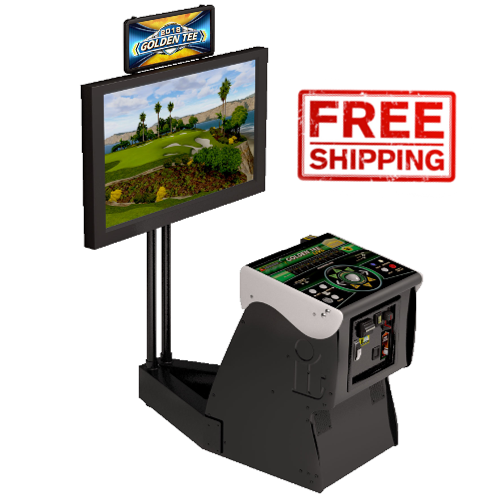 Golden Tee 2019 Online Home Edition at 8 Line Supply
