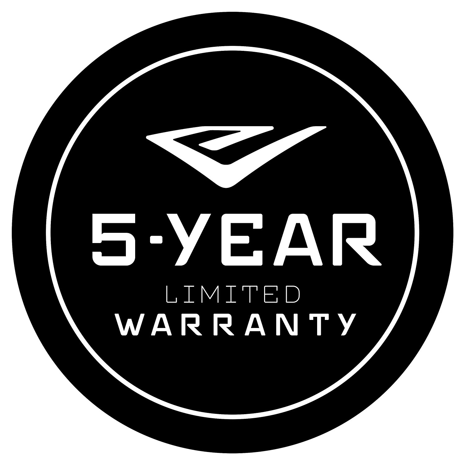 Earthquake Limited Warranty: not just 2 or 3 Years... 5 Year with Earthquake