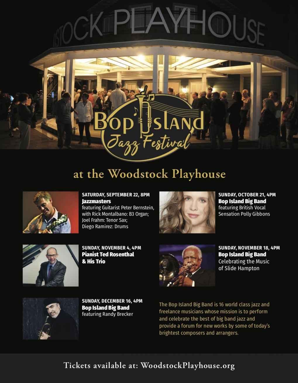 Bop Island Jazz Festival Fall 2018