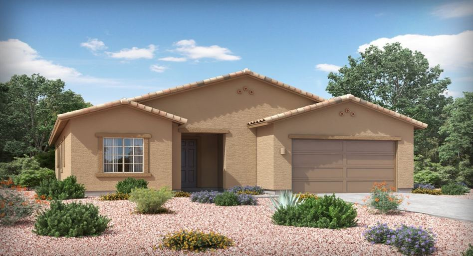 Tour two new single-story model homes now open at Overton Reserve in Tucson