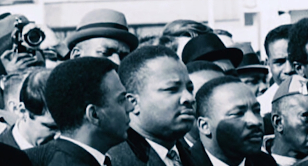 A.D. KIng with Dr. Martin Luther King, Jr.