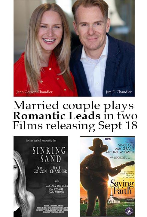 Married Couple Jim E. Chandler & Jenn Gotzon Chandler star as Romantic Leads