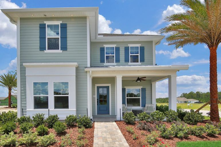 TrailMark has a stunning new decorated model home by Dream Finders Homes