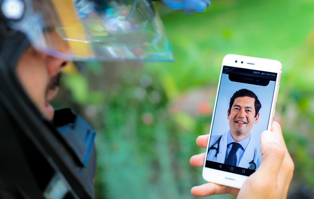 Live Video Chat with a Board-Certified Doctor