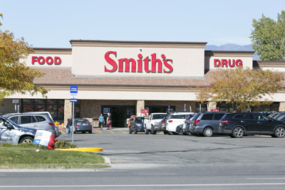 48,000 SF Smith's Grocery shadow-anchored shopping center in Sandy, UT.