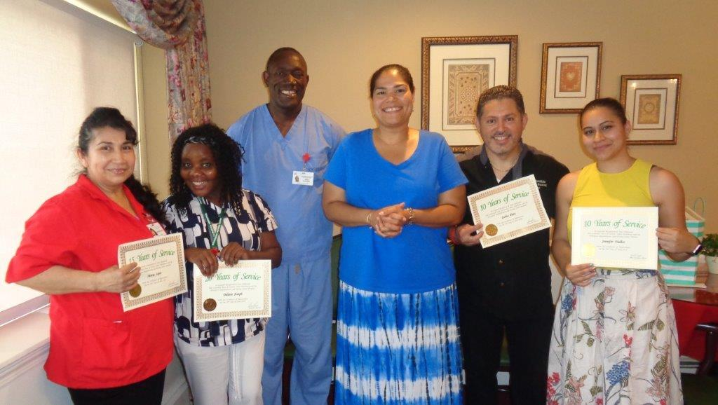 winchester rehabilitation  u0026 nursing center recognizes 17