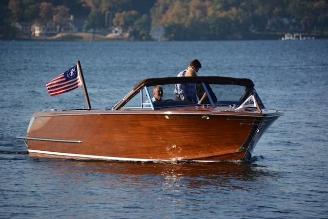 Classic Boat Close-up