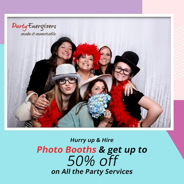 Press Release - 50% Discount on Photo Booth Rental
