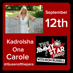 Kadrolsha Ona Carole On The Jimmy Star Show With Ron Russell