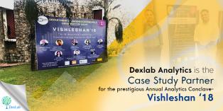 Dexlab Analytics is Case Study Partner for Analytics Conclave- Vishleshan '18