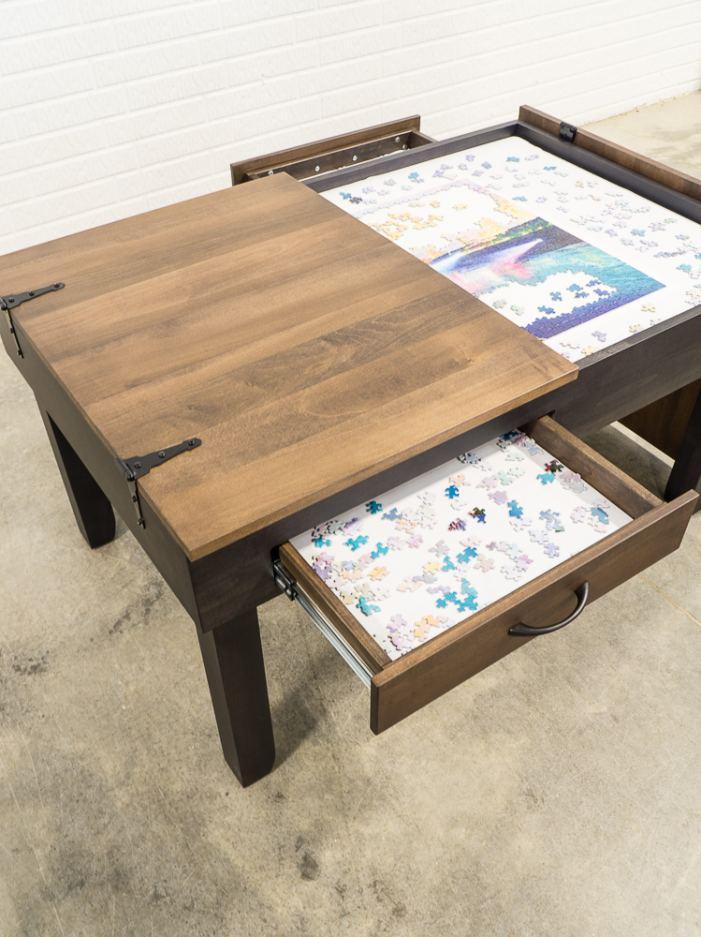 Custom Made Puzzle Table by DesignedDecor