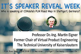 Professor Dr.-Ing. Martin Eigner to Keynote at CIMdata's PLM Road Map