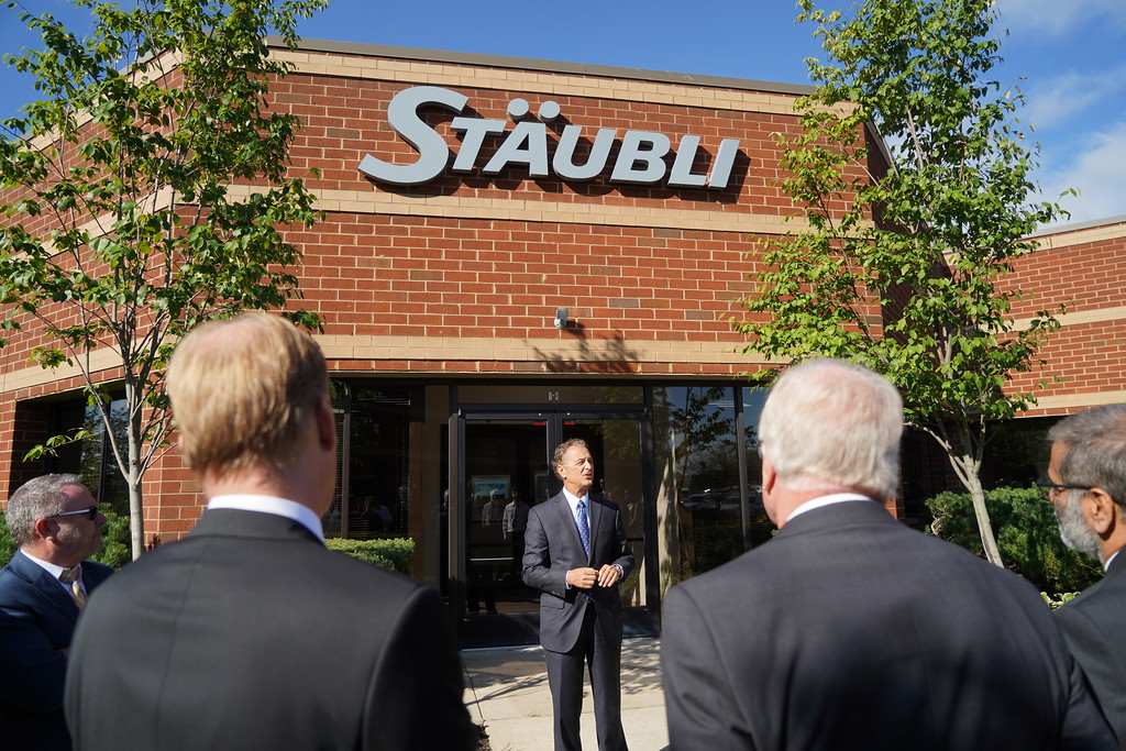 Roger Varin, CEO of Stäubli North America