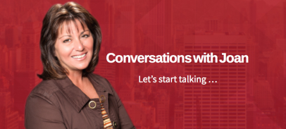 Conversations with Joan Airs Sundays @ 10 PM ET on NY's AM970