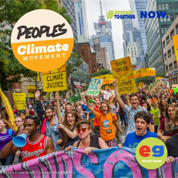 People's Climate Movement Rise For Climate, Jobs & Justice March