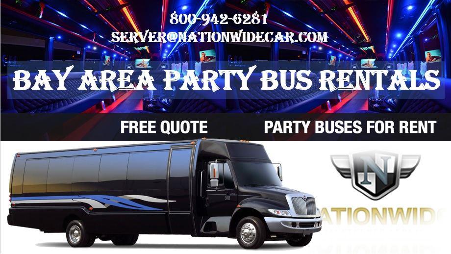 Bay Area party bus rentals