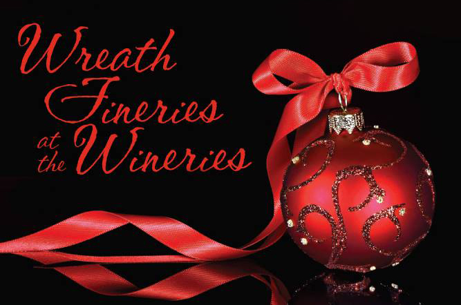 Wreath Fineries at the Wineries!