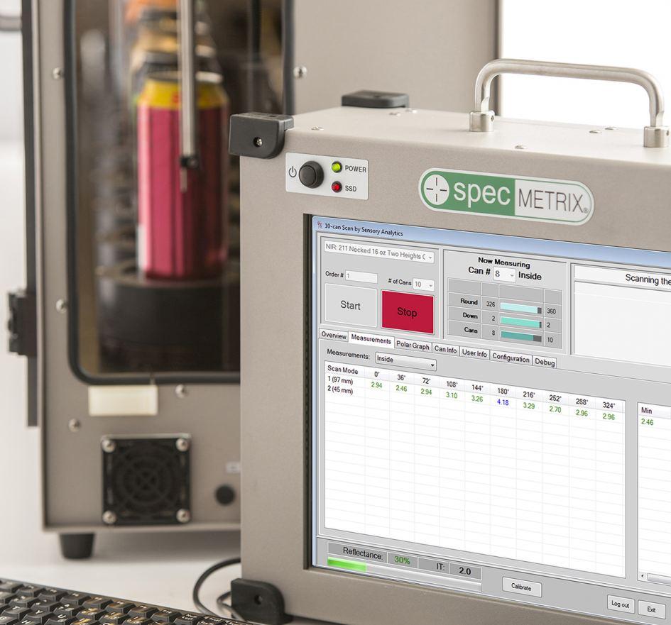 SpecMetrix ACS Container Coating Measurement Systems