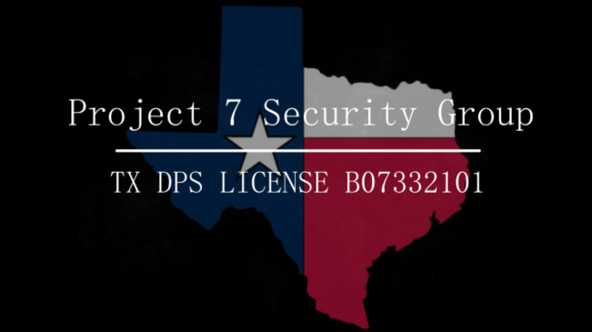 Texas Security License - Project 7 Security Group