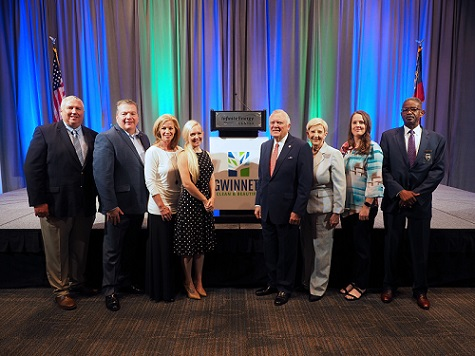 Attendees of the 2018 Environmental Address Stand with Governor Deal