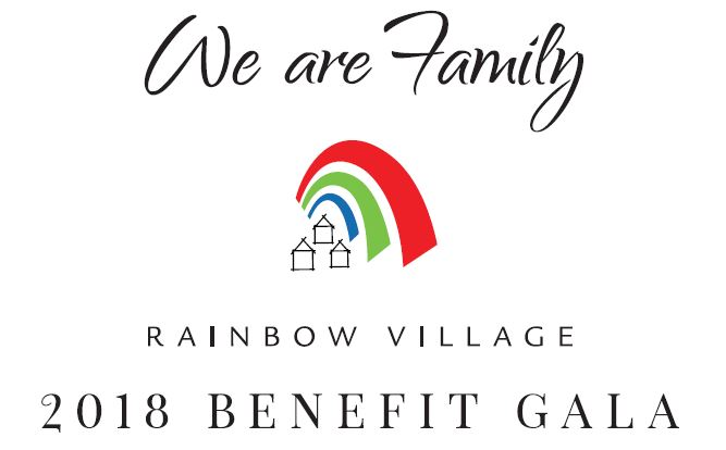 Rainbow Village's Annual We Are Family Gala is Set for October 27