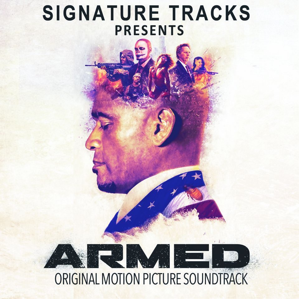 """Armed"" Soundtrack Album Cover"