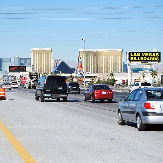 Las Vegas Billboards has grown by eight digital billboard faces this year.