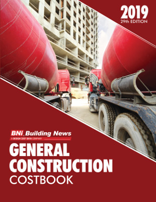 2019 BNI General Construction Costbook