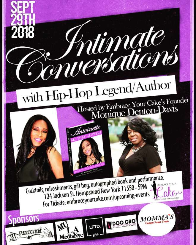Intimate Conversations with Hip-Hop Legend and Author Antoinette