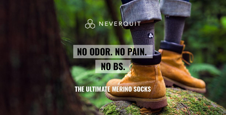 Neverquit Elevated Merino  Kickstarter