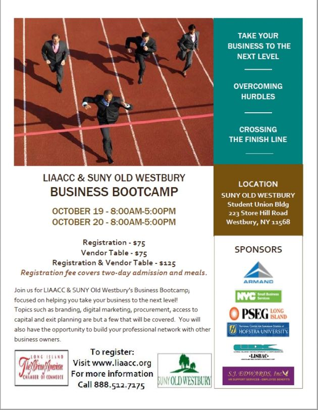 LIAACC SUNY Old Westbury Business Boot Camp