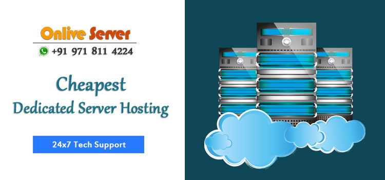 Onlive Server Hosting Company offer Cheapest Dedicated Server Hosting