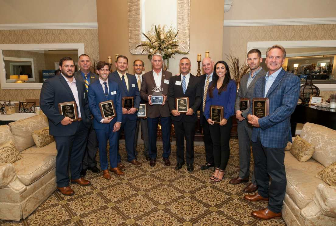"""The SBACNJ award winners at """"A Night of Honor"""", held on September 12."""
