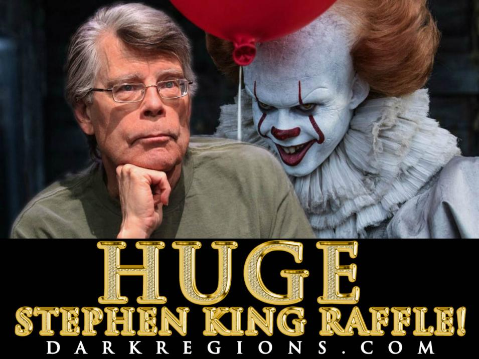 HUGE STEPHEN KING RAFFLE ON DARKREGIONS.COM