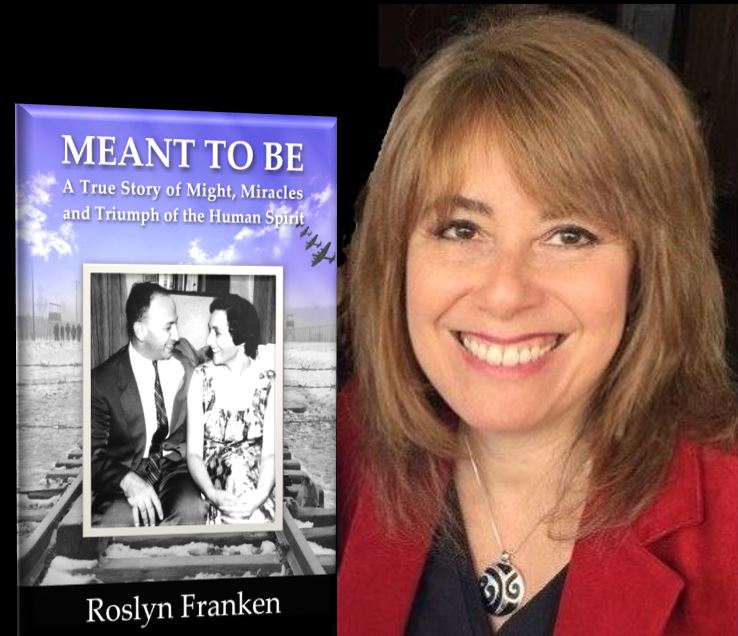 Roslyn Franken, author of Meant to Be