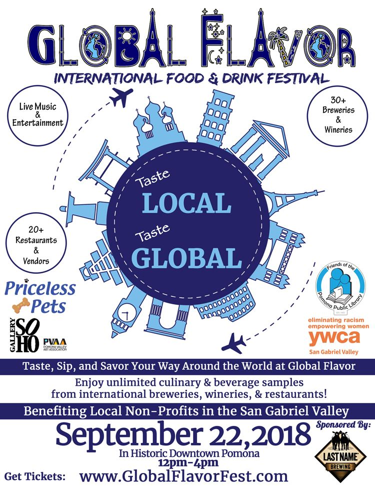 Global Flavor Festival is September 22 in Pomona, CA