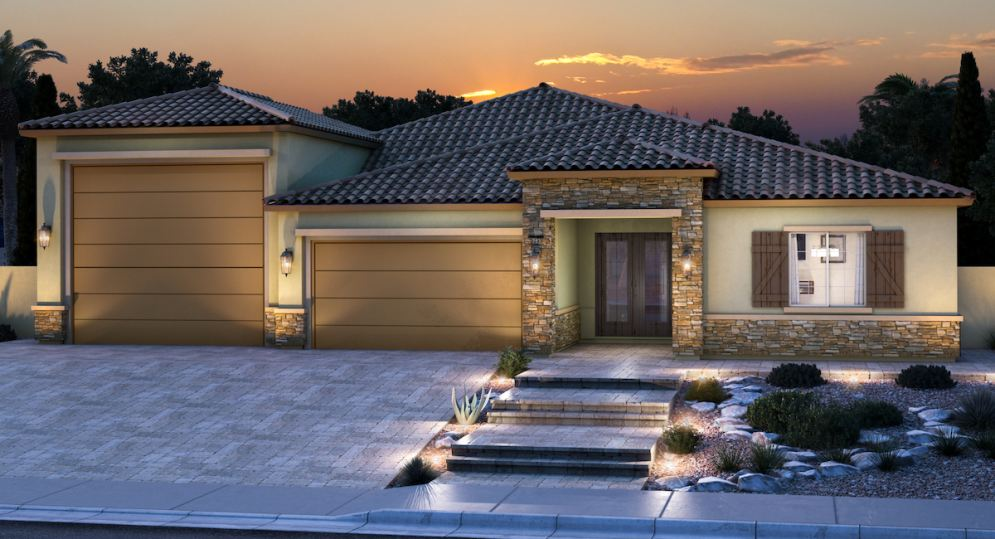 New model complex opens at Lennar's Emerald Crest this weekend in Las Vegas!