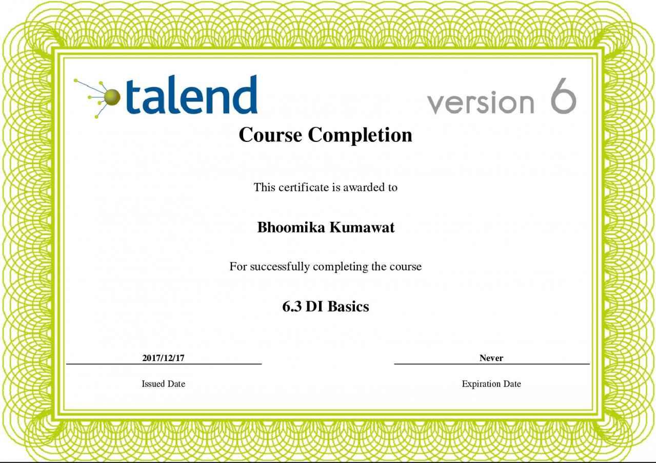 certification testout talend basics slideshares proximos