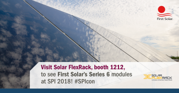 SFR to Exhibit Solar Trackers & Racking at SPI