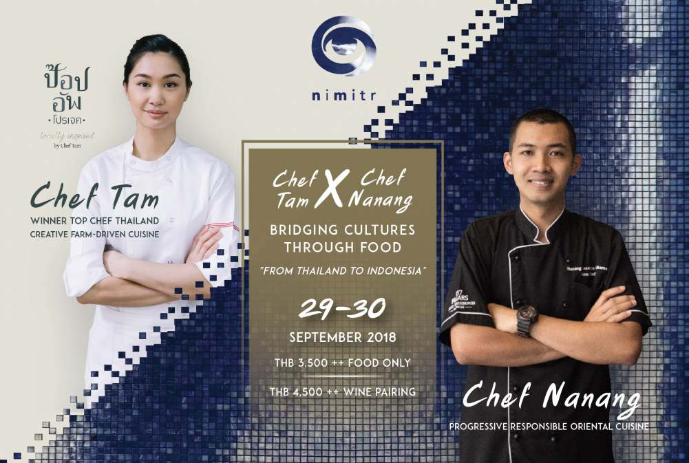Exciting Pop-Up Dinner to Celebrate  Indonesian, Thai Flavours At Nimitr
