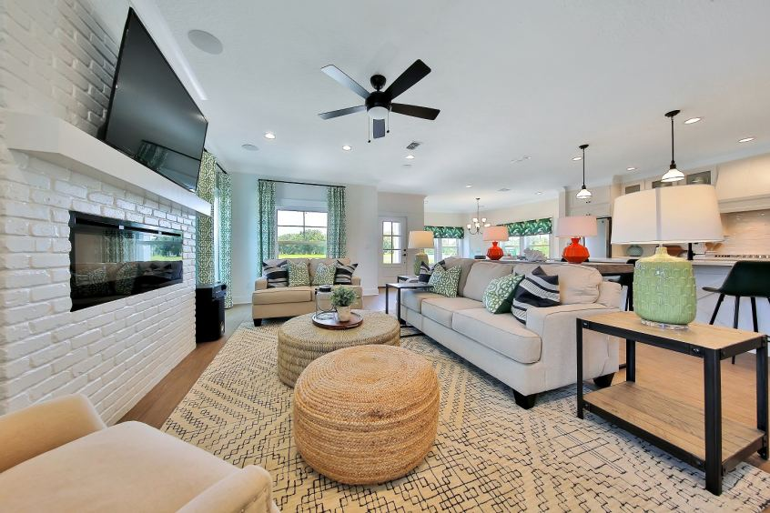 TrailMark has beautifully decorated award-winning model homes available to tour