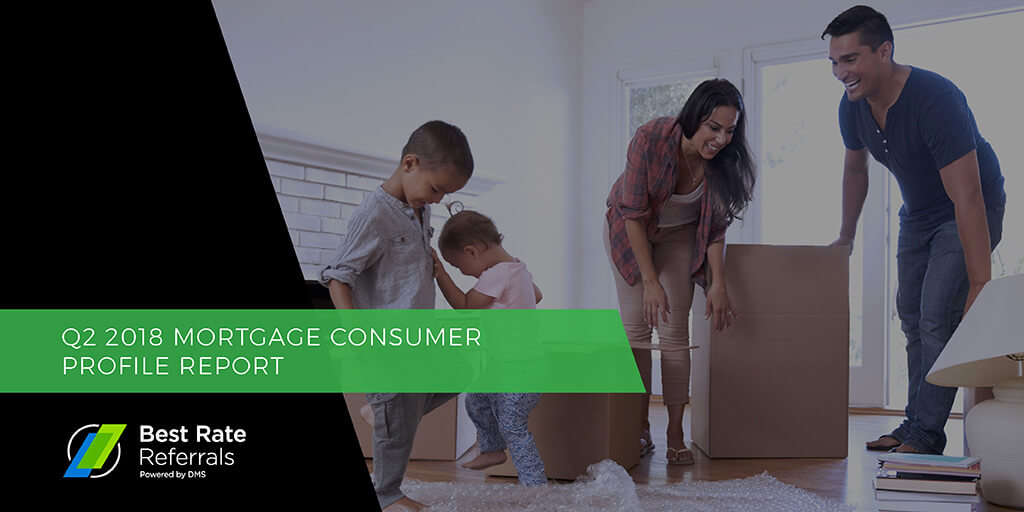Q2 2018 Mortgage Consumer Profile Report, courtesy of Best Rate Referrals