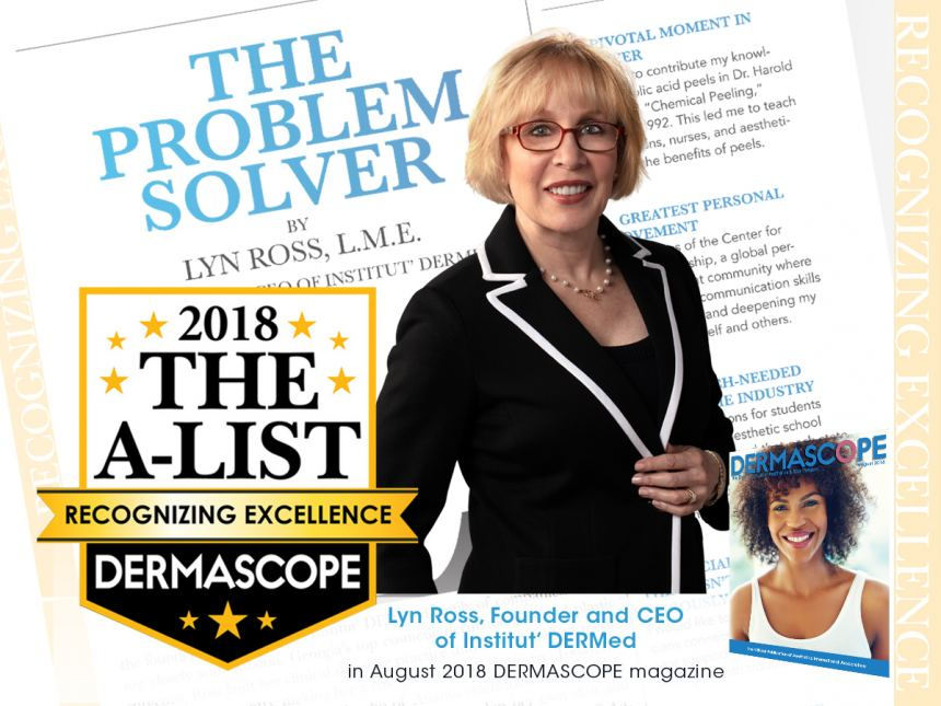 Lyn Ross_A List Award Winner