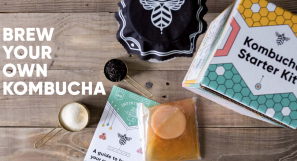 New DIY Kombucha Kits