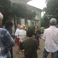 Morven's front yard starts the Stockton Landmark Walking Tour with Jen Jang