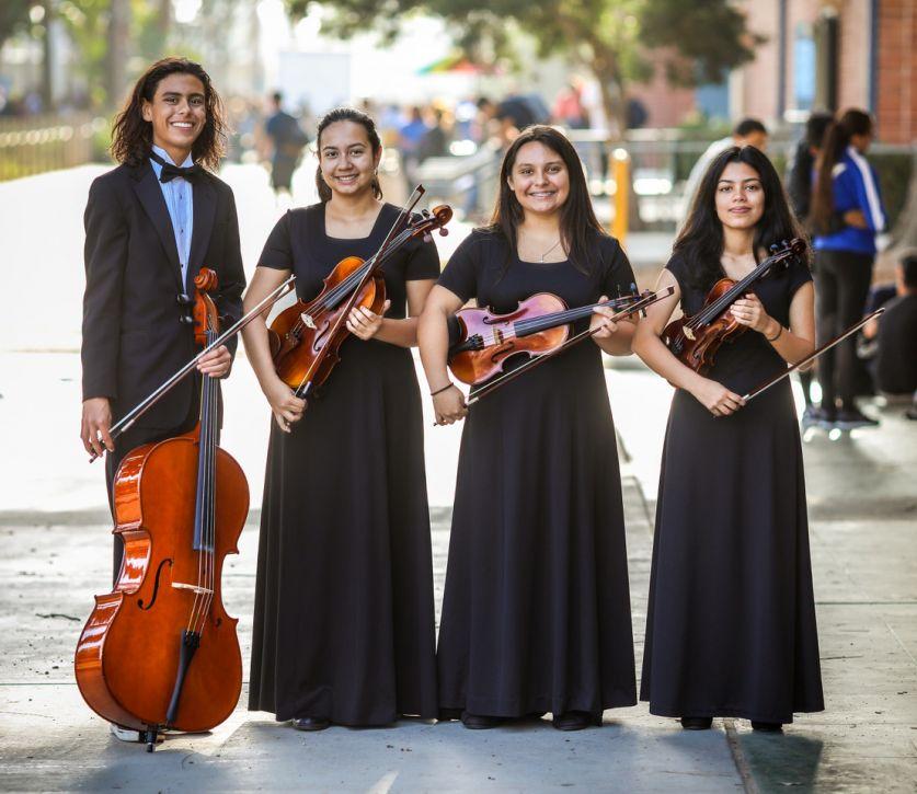 Whittier California High School String Quartet