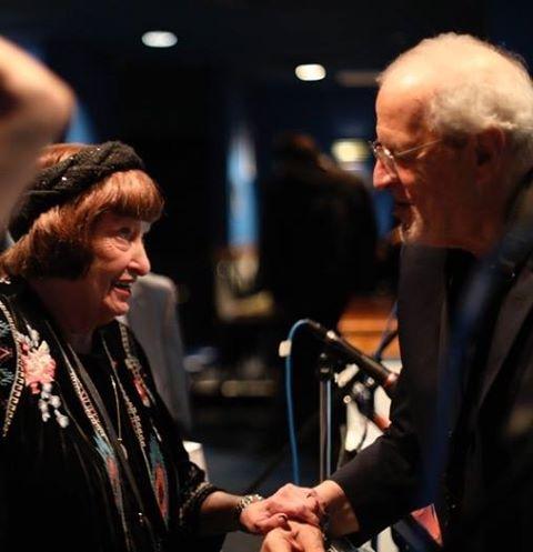 American Jazz Singer Sheila Jordan with Ron Aprea