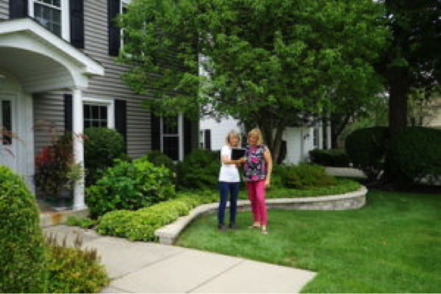 A healthy lawn makes a great impression with potential buyers and the neighbors